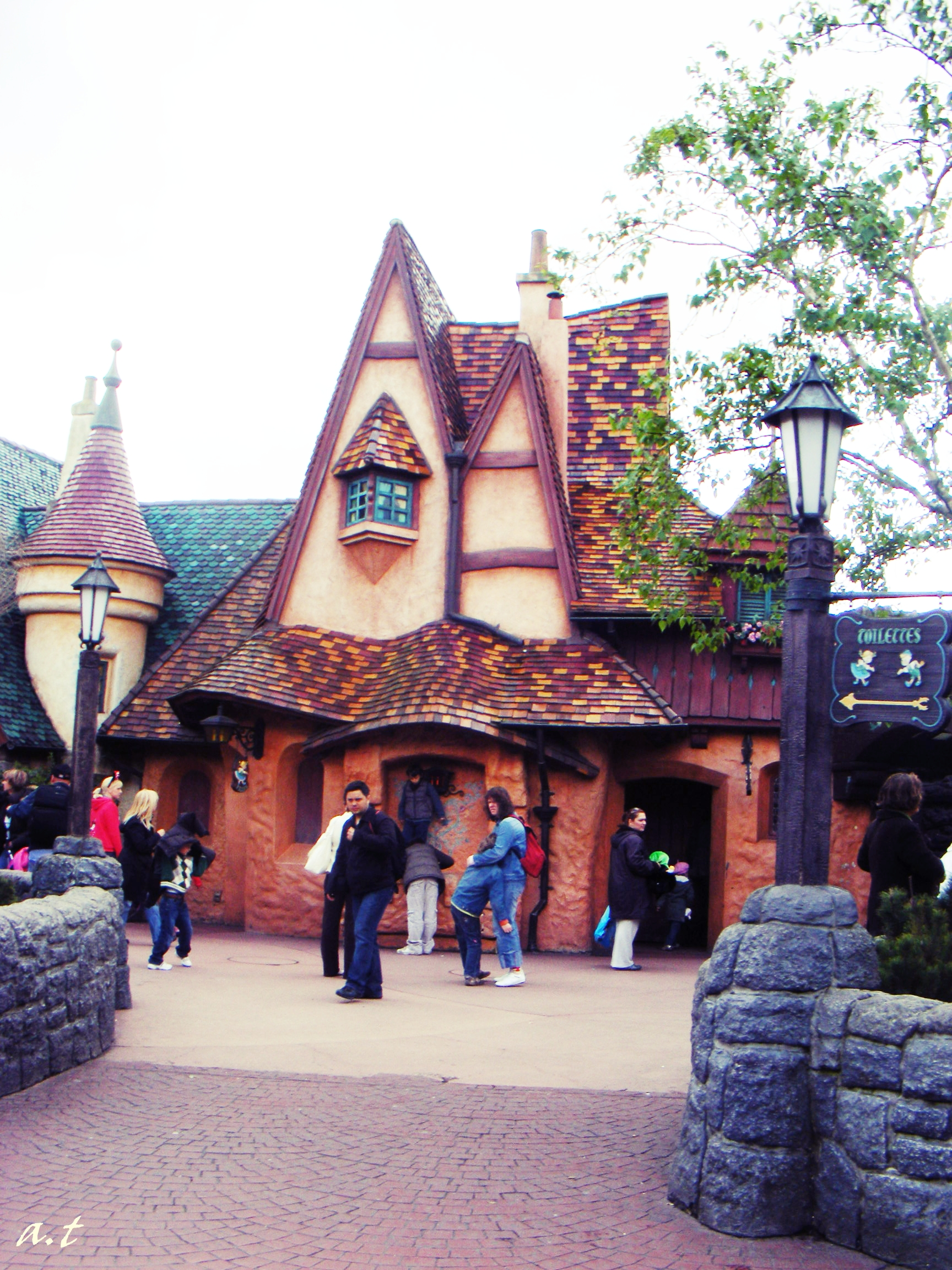 Funky Building Disneyland Cityoftheweek
